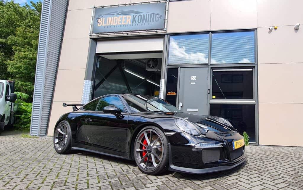 Auto schoonmaken Porsche GT3