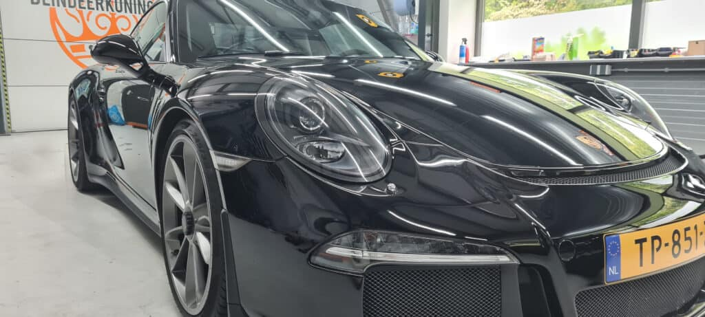 Car clean voorkant exterieur Porsche GT3