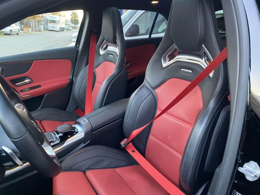 Custom rode gordels / autogordels